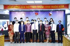 越老柬三国青年分享防疫经验