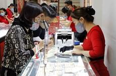 10月22日上午越南国内黄金价格在5800万越盾以上