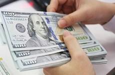 10月25日上午越盾对美元汇率中间价上调6越盾