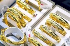 10月25日上午越南国内黄金价格小福上涨