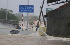 越南中部发生洪涝灾害 多地被淹 数千人疏散
