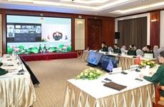东盟高级防务官员工作组在线会议召开
