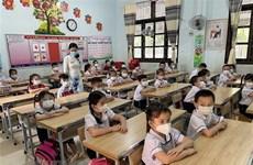 越南全国开展线下教学省市23个 线上教学省市25个