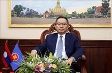 老挝特别强调东盟内部合作和团结协作 维护东盟的核心作用