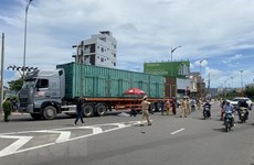今年前10月越南交通事故三项指数大幅下降