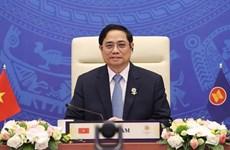 政府总理范明政建议日本继续协助东盟缩小发展差距 促进均衡发展