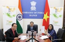 印度大使馆与越南8个地方签署快速影响项目谅解备忘录
