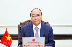 越南领导人向捷克领导人致国国庆贺电