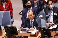 越南国家主席阮春福:越南对国际的责任贡献