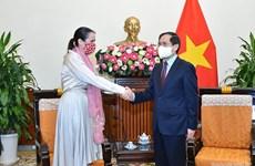 进一步促进越南与新西兰战略伙伴关系