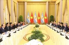 越南与阿根廷发表联合公报