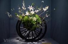 越南首次参加日本关西地区花道展览会(组图)