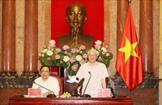 越共中央总书记、国家主席阮富仲:反腐败工作以建为本 重在防范