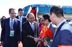 """越南政府总理阮春福抵达北京出席""""一带一路""""国际合作高峰论坛(组图)"""