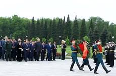 越南政府总理阮春福访俄期间的活动(组图)