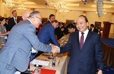 越南政府总理阮春福出席越南—俄罗斯企业论坛(组图)