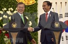 韩国与印尼加强双边合作并达成《全面经济伙伴关系协议》