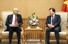 促进世界银行与越南在能源发展领域的合作