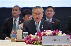 第53届东盟外长会议:泰国突出疫情后复苏计划