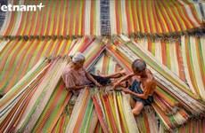 探访同塔省数百年历史的织席村