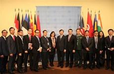 组图:越南正式担任本月联合国安理会轮值主席国