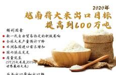 图表新闻:越南将2020年大米出口目标提高到600万吨