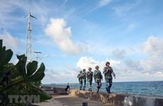 组图:长沙群岛解放45年后 如磐石屹立在风口浪尖