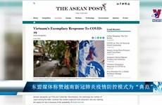 """东盟媒体称赞越南新冠肺炎疫情防控模式为""""典范"""""""