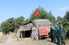 组图:干部战士们一直守候在边境地区检疫站执行检疫任务