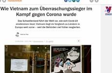 德国媒体:越南是全球抗击新冠肺炎疫情的少数亮点之一