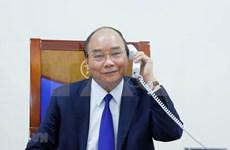 政府总理阮春福与美国总统特朗普通电话