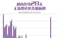 图表新闻:越南连续28天无新增社区传播病例