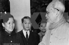 组图:胡志明主席对越南通讯社的特殊感情