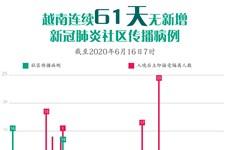 图表新闻: 越南连续61天无新增新冠肺炎社区传播病例