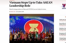 外国媒体赞赏越南在东盟的引导作用