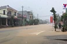 老街省克服洪灾后果