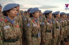 妇女为联合国维和行动做出重要贡献