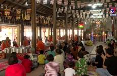 朔庄省高棉族同胞欢乐安全喜迎传统新年