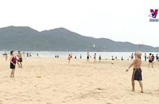 岘港市生活重新恢复正常的第一天