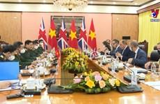 政府总理范明政接见英国国防大臣