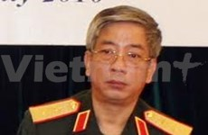 越南国防部副部长对美国进行访问