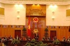 阮晋勇总理接见国际客人