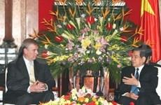 越南政府接见英国王子