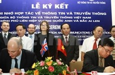 越南与英国加强通信传媒领域的合作关系