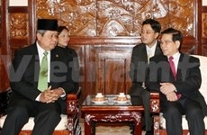 印度尼西亚总统访问越南