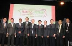 第八届越法非集中合作会议在海防举行