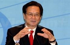 阮晋勇总理呼吁韩国企业投资越南
