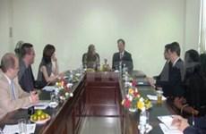 美国ACYPL代表团访问越南