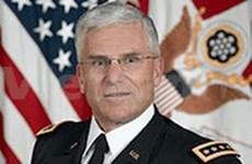 美国陆军参谋长访问越南