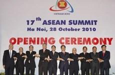 东盟推动合作发展